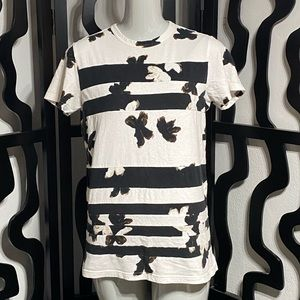Marc by Marc Jacobs Flower Striped T-Shirt